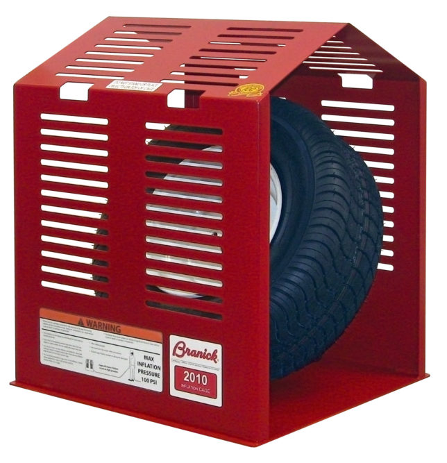 Branick Releases Utility Tire Inflation Cage