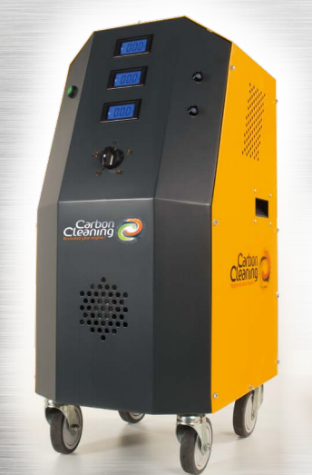Carbon Cleaning machine makes engines shine