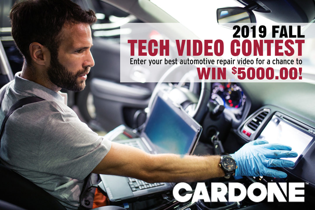 Cardone Launches Technical Video Contest