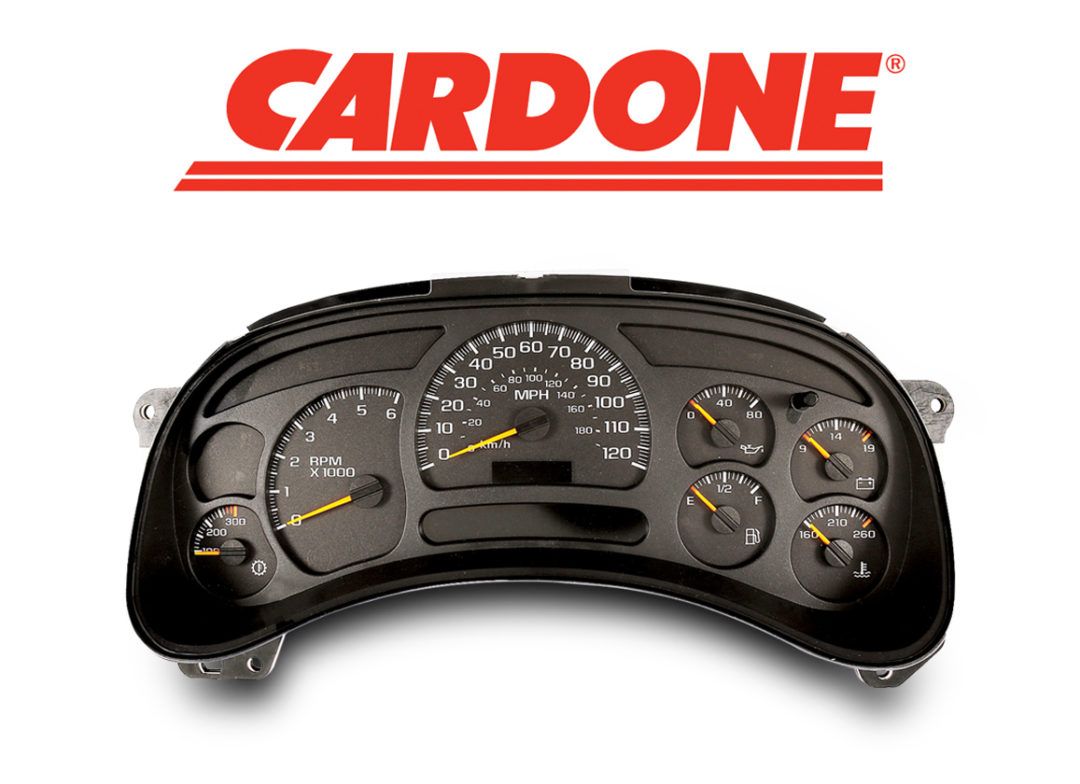 Cardone Offers Remanufactured Instrument Clusters