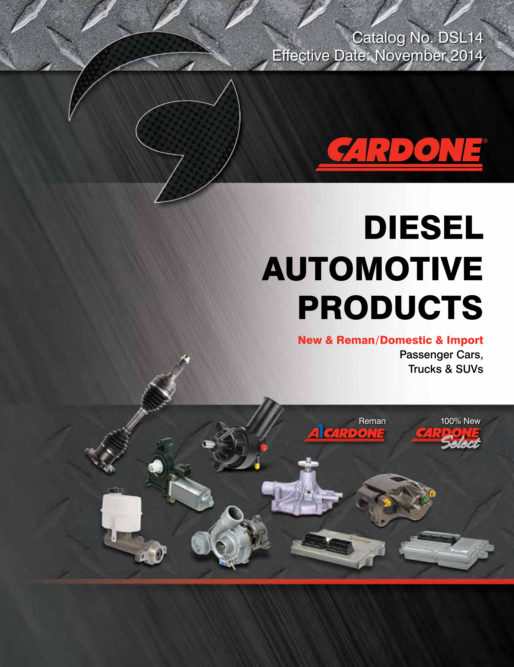 Cardone releases latest diesel products catalog in digital format