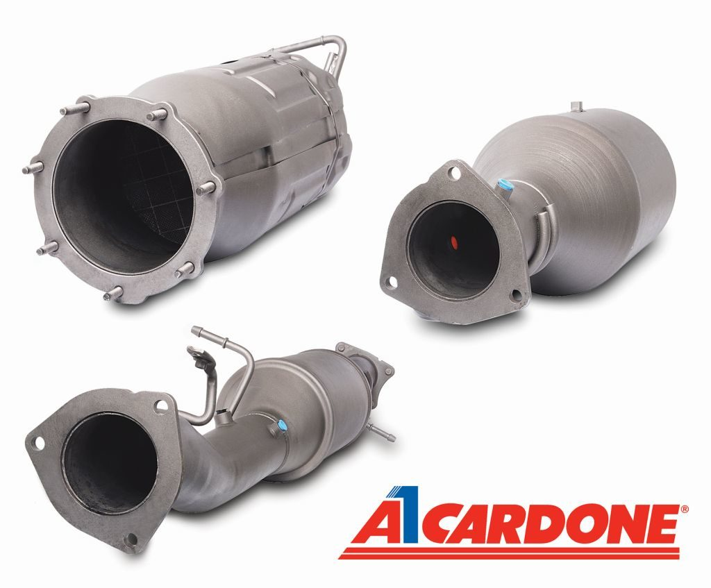 Cardone Releases Remanufactured Diesel Particulate Filters