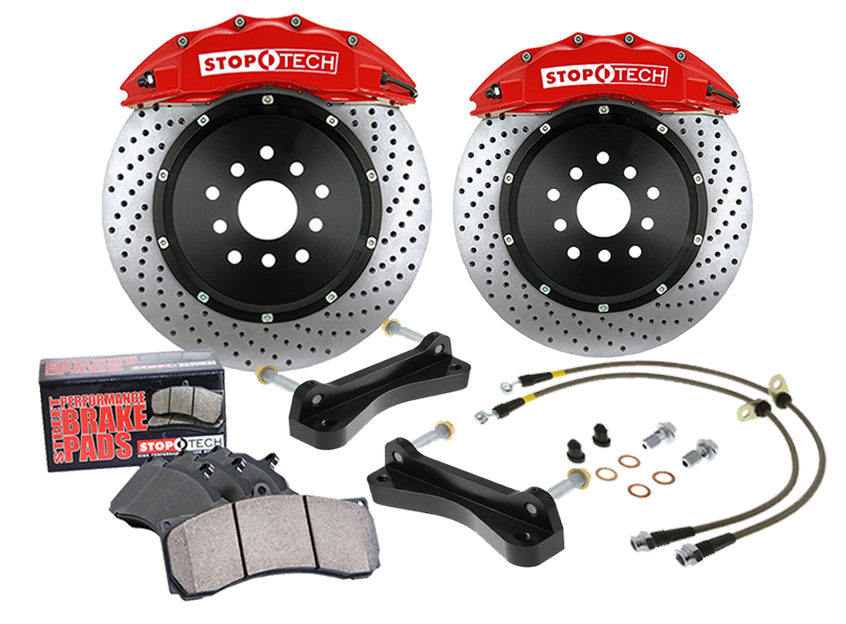 Centric Parts adds range of front StopTech Big Brake Kits for 2015 Volkswagen GTI