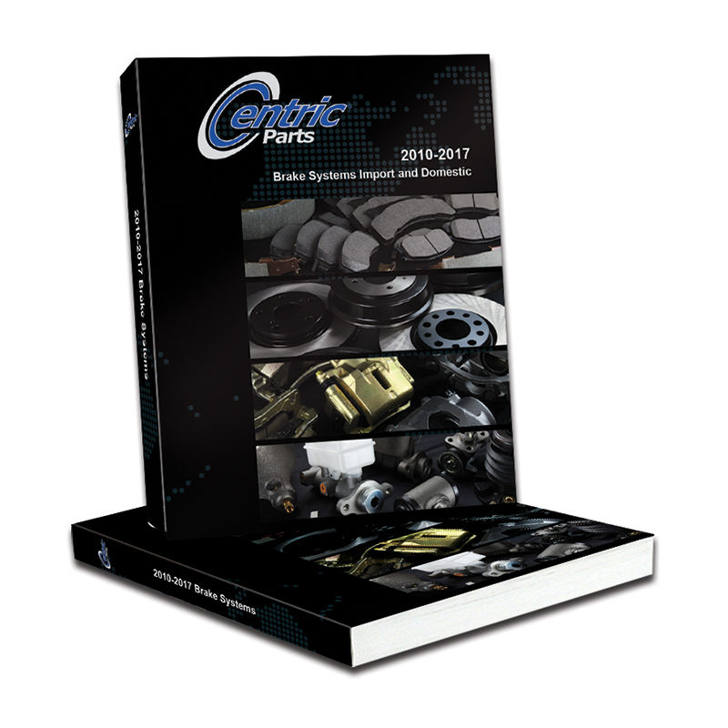 Centric Parts Adds Thousands of Parts to 2017 Brake Systems Catalog