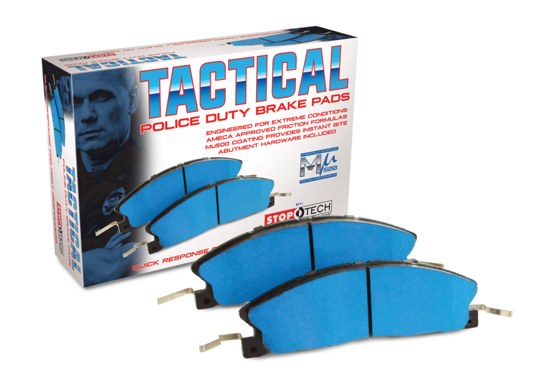Centric Parts Develops Tactical Police Duty Brake Pads