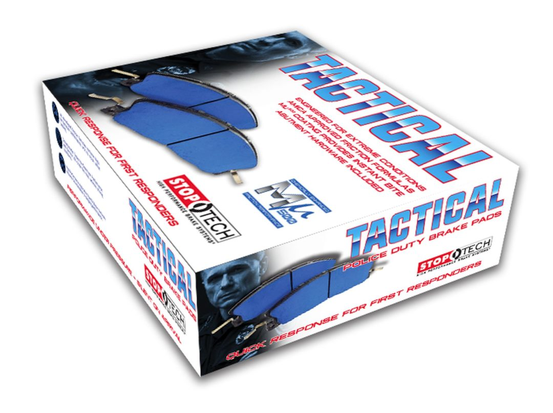 Centric Parts Has New Police Vehicle Brake Pads for Extreme Duty Use