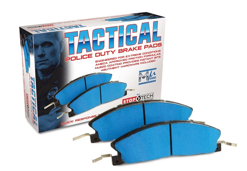 Centric Parts Introduces StopTech Tactical Police Duty Brake Pads