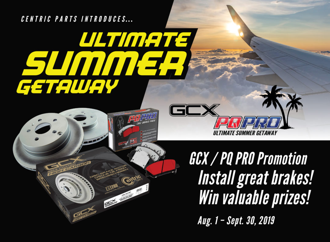 Centric Parts Launches 'Ultimate Summer Getaway' Promotion