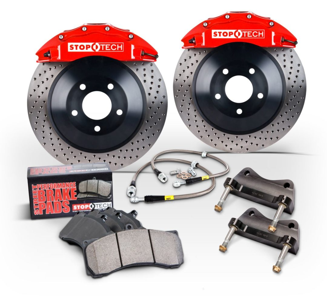 Centric Parts Offers StopTech Brake Kits for 2015 Mustang GT