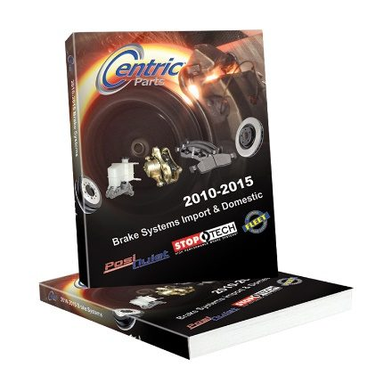 Centric Parts releases 2015 Brake Systems Catalog for 2010-15 vehicles
