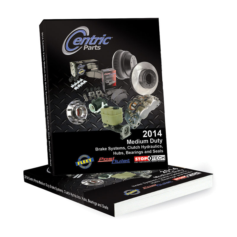 Centric Parts releases brake systems catalog and program guide for medium duty trucks