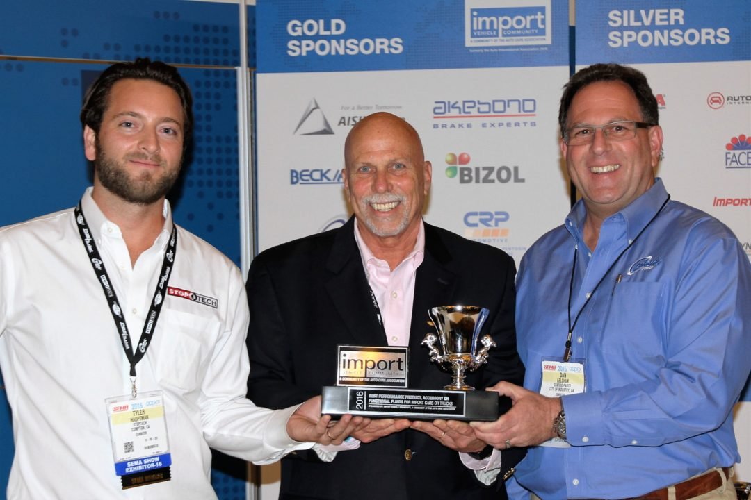 Centric Parts Wins Import Product Award at AAPEX