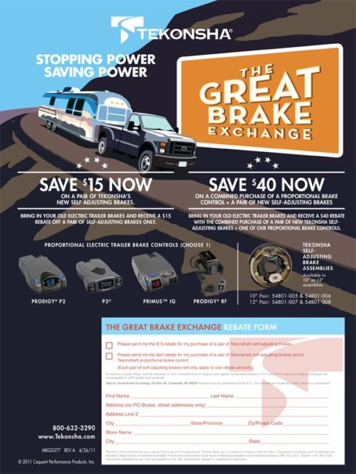 Cequent promotes 'The Great Brake Exchange'