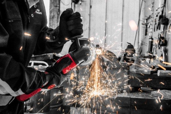 Chicago Pneumatic Adds Two Cordless Angle Grinders