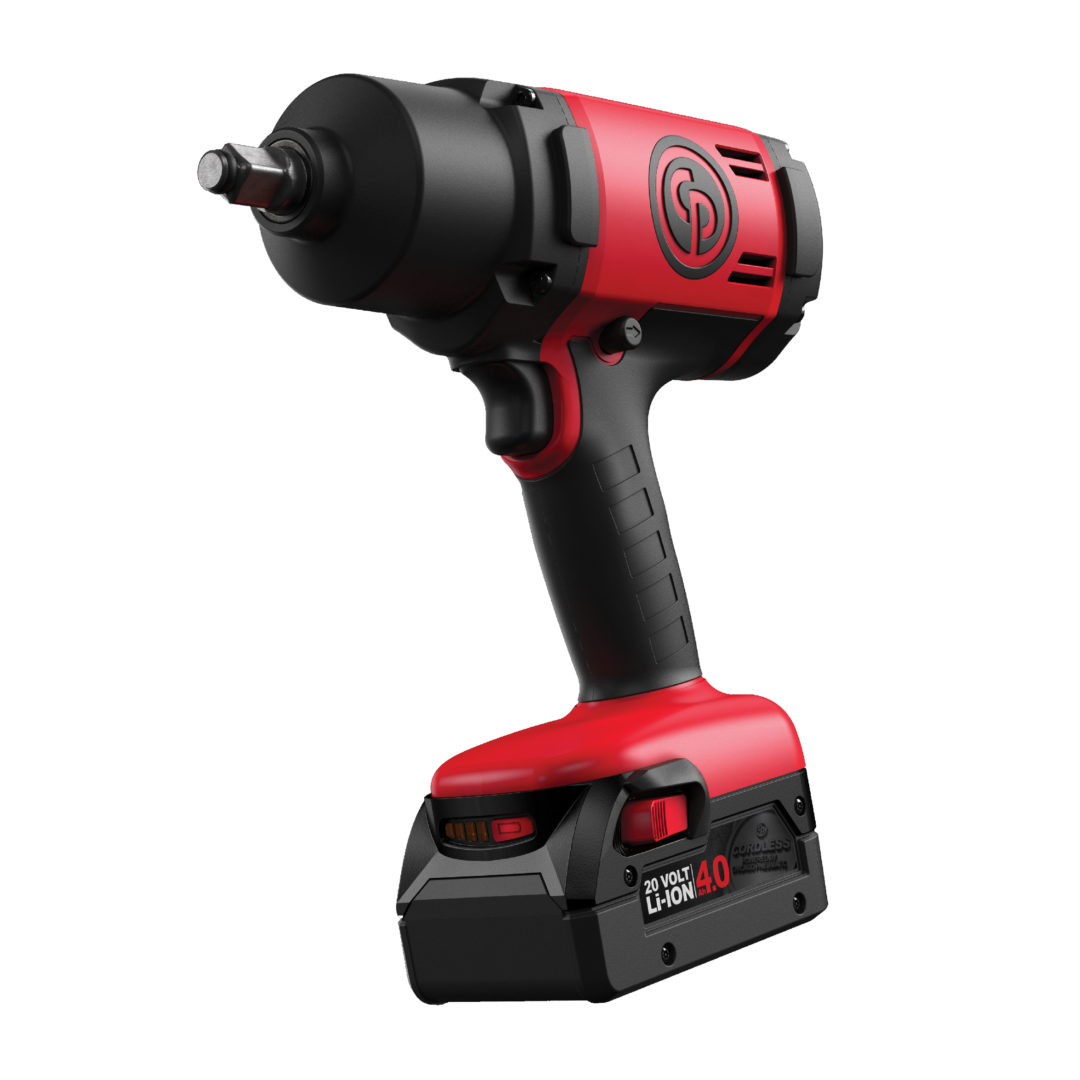 Chicago Pneumatic Cordless Wrench Provides 10% More Power