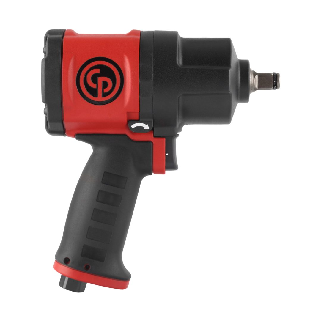 Chicago Pneumatic Designs New Impact Wrench for Power and Comfort