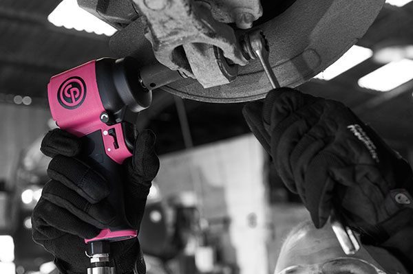 Chicago Pneumatic Goes Pink to Fight Breast Cancer