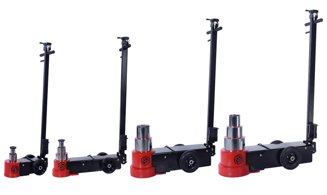 Chicago Pneumatic Launches Series of Air Hydraulic Jacks