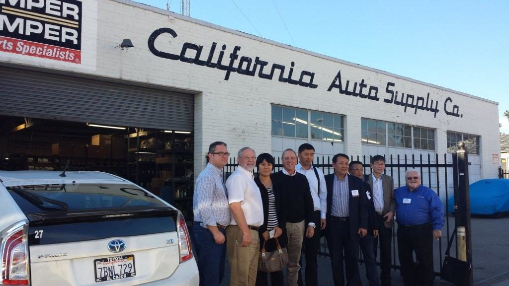 China Alliance members visit their California counterparts