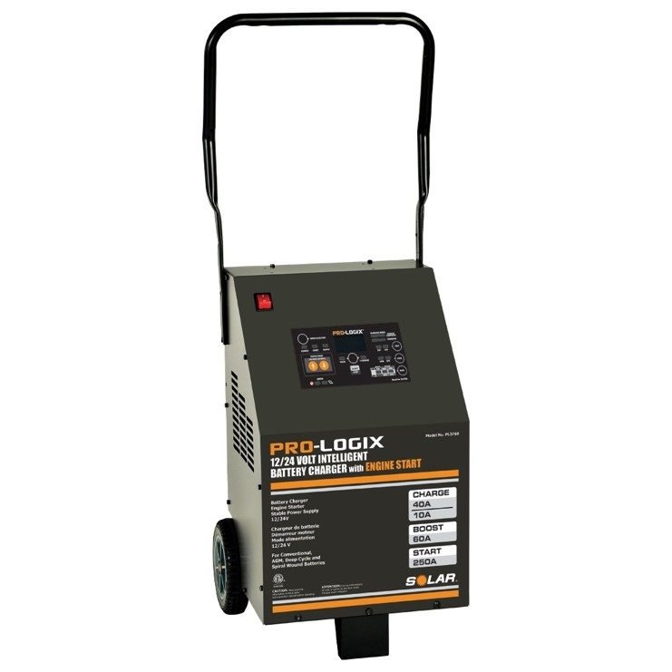Clore Adds Wheeled Battery Charger to Solar Line