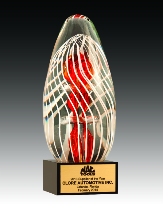 Clore Automotive named Supplier of the Year by Mac Tools