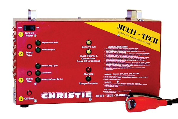 Clore offers multi-tech automatic pulse charger