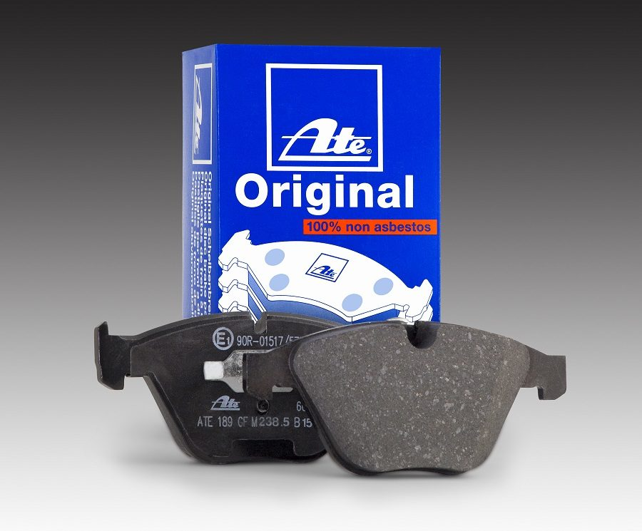 Continental Offers ATE Original Brake Pads for European Vehicles