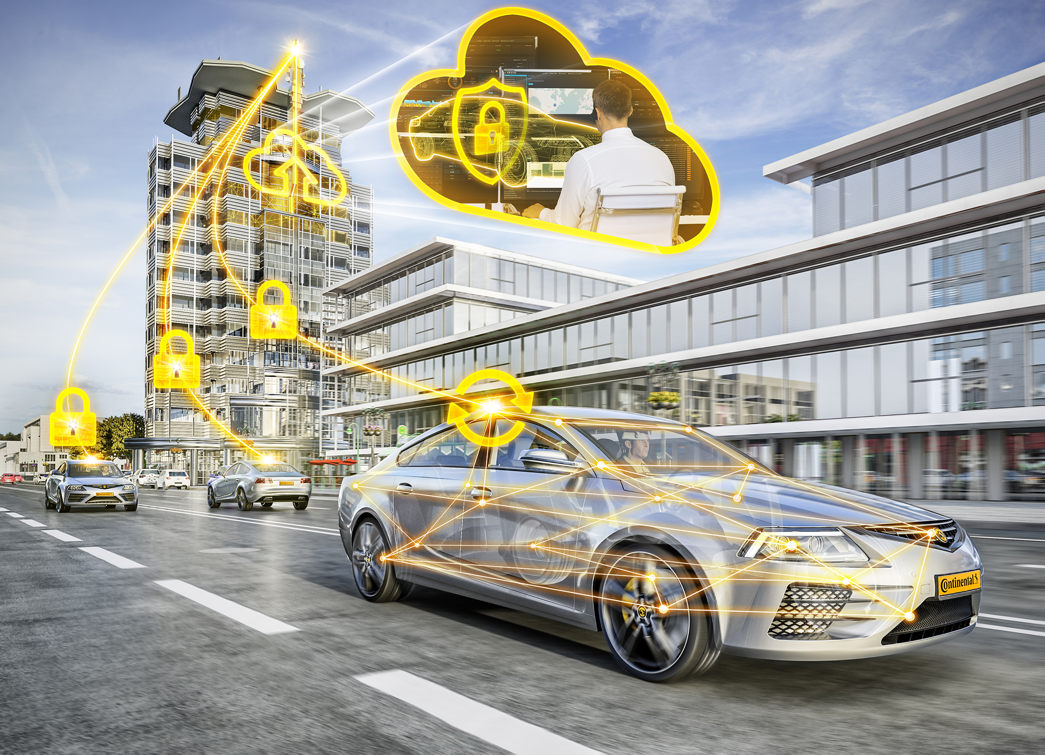 Continental Protects Vehicles From Cyber Attacks