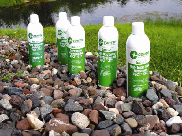 Cortec's Corrosion Protection Line Has Water-Based Spray Can Technology