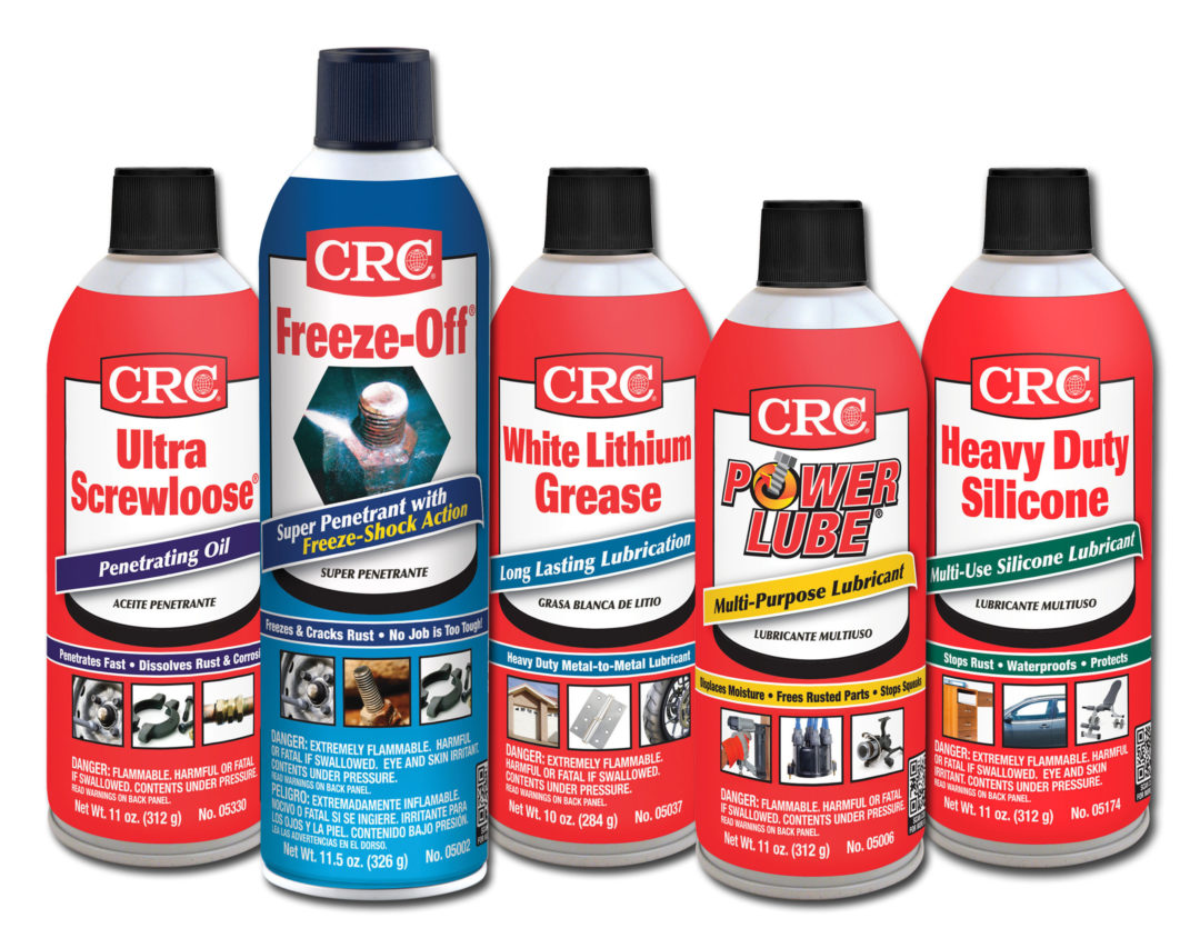 CRC updates packaging with QR codes and photos of product applications