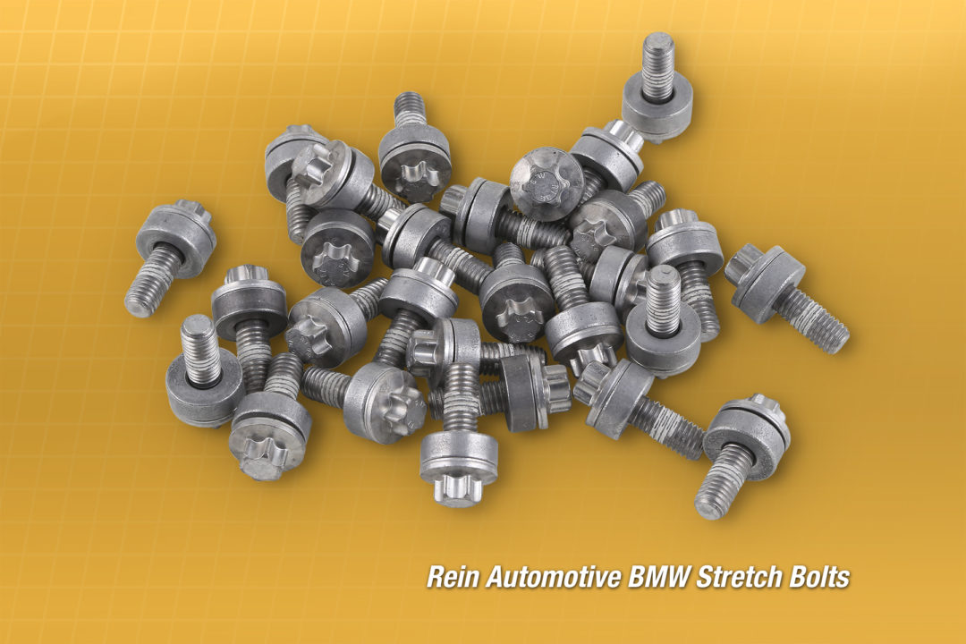 CRP Automotive Adds Stretch Bolts for BMW Applications