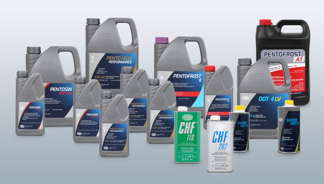 CRP Automotive Introduces New Packaging for Pentosin Brand