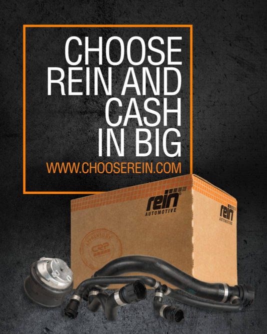 CRP Automotive launches 'Choose Rein and Cash In Big' promotion