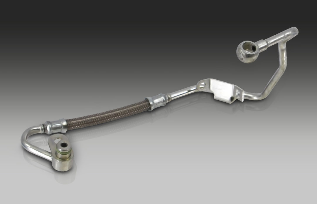 CRP Automotive Releases Rein Turbo Oil Feed Pipes