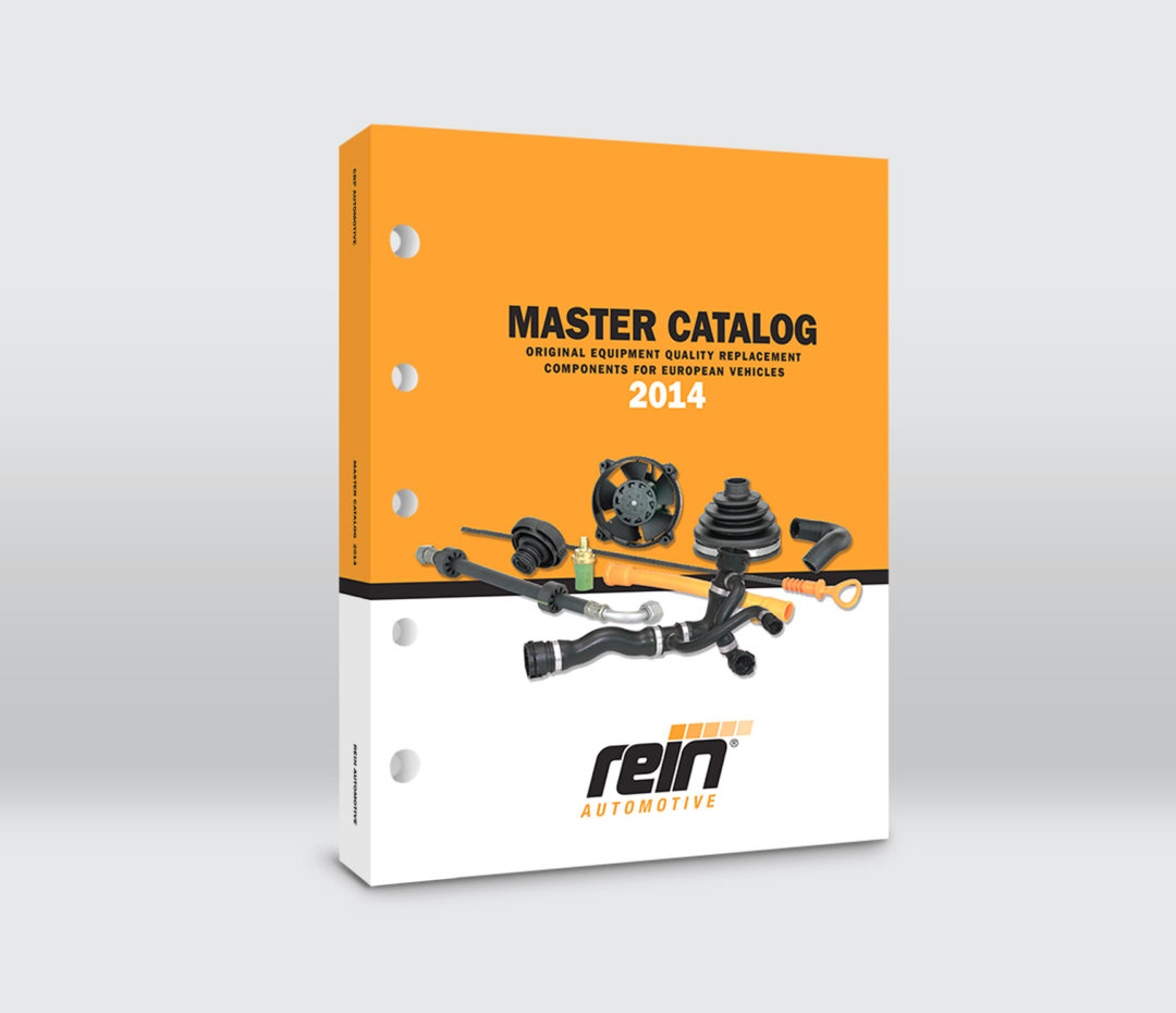 CRP Industries Rein Automotive Master Catalog covers European, Asian applications