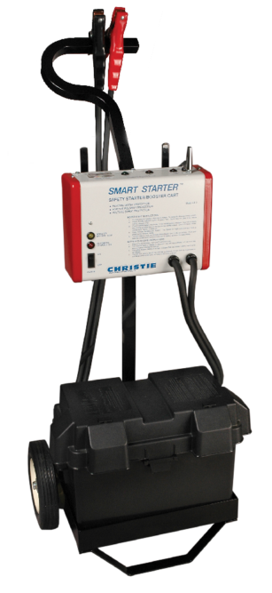 CS3 'Smart Starter' Booster Cart has voltage spike protection