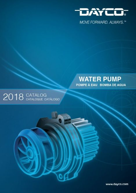 Dayco Products Releases Water Pump Catalog