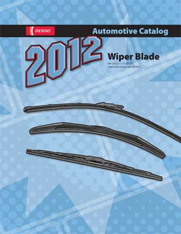 DENSO Sales California releases 2012 Wiper Blade catalog