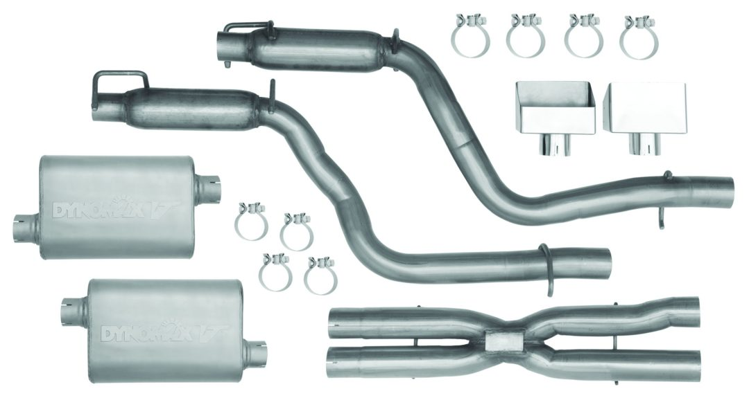 DynoMax performance exhaust systems for Challengers