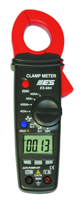 Electronic Specialties Has New 400 Amp Auto-Ranging Clamp Meter