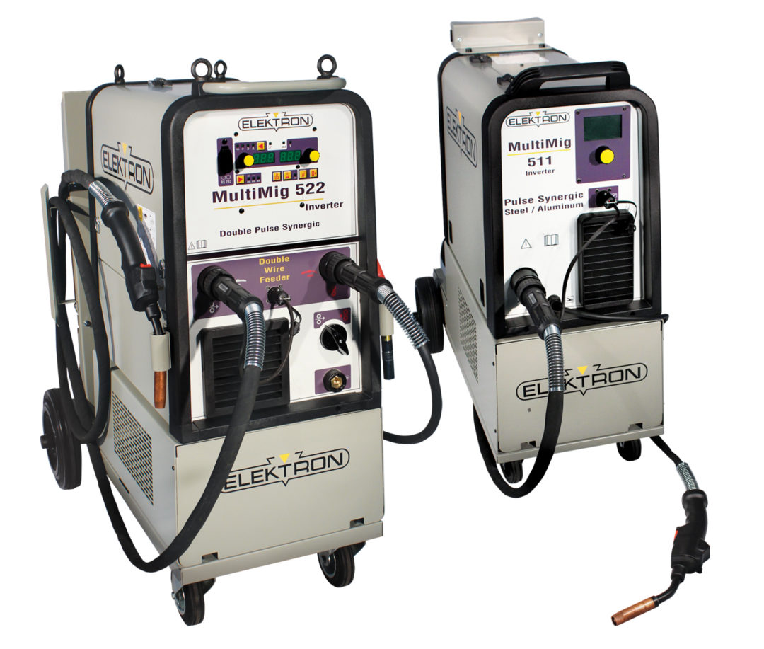 Elektron MIG/MAG Welders for aluminum, steel