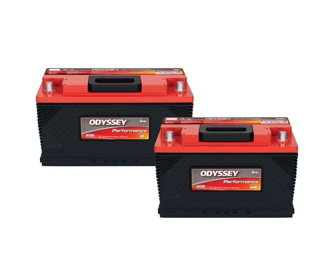 EnerSys Introduces Odyssey Batteries for Jeep, Dodge and Chevrolet