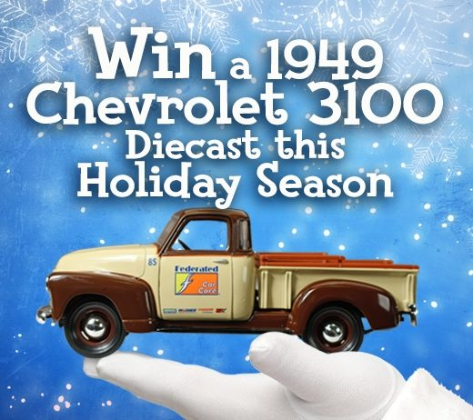 Enter to win a Federated Holiday Diecast