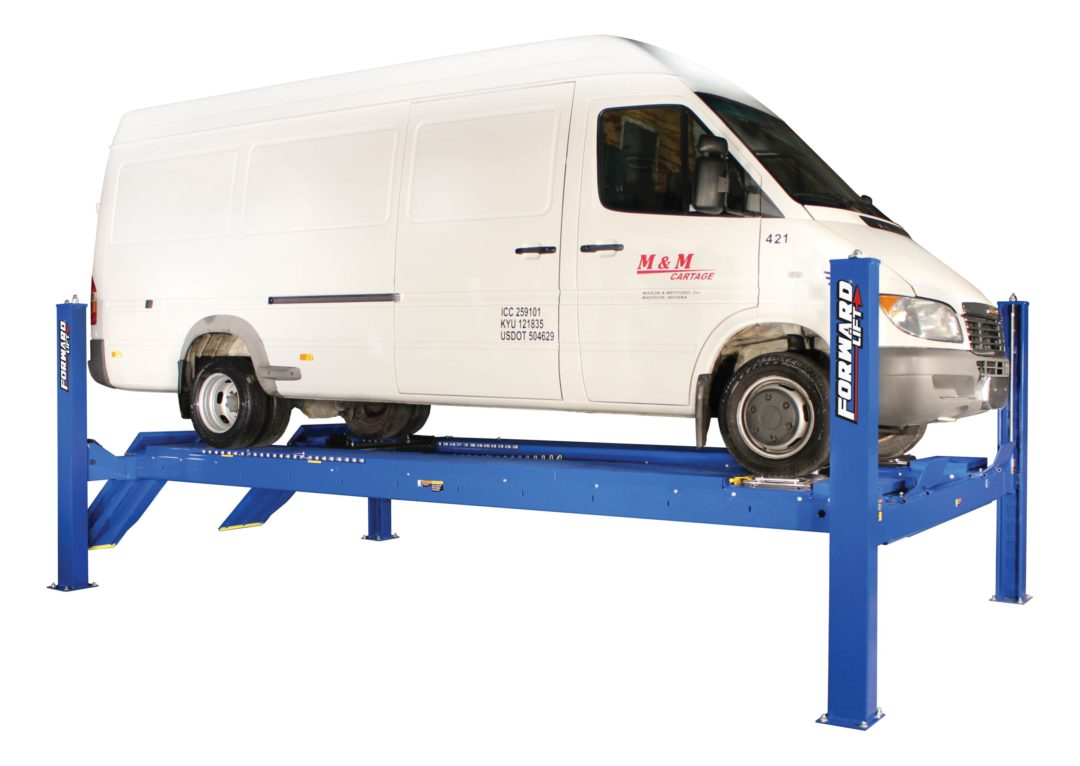 Expand service offerings with new Forward Lift alignment equipment