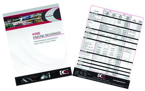 Expanded King Engine Bearings guide