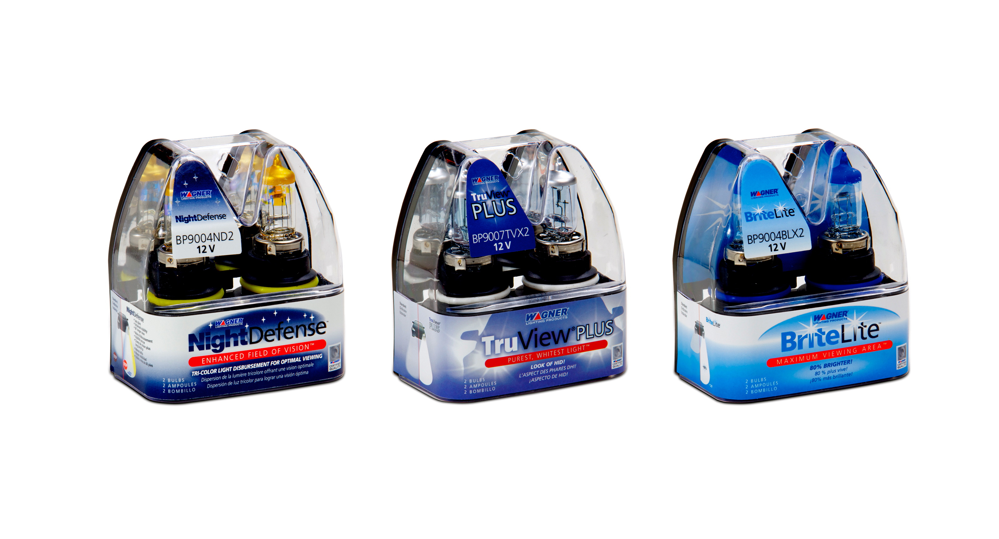 Expanded Wagner headlamp line, retail-friendly packaging