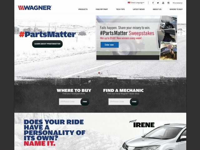 Federal-Mogul Unveils Mobile-Friendly Website For New Wagner Brand Identity