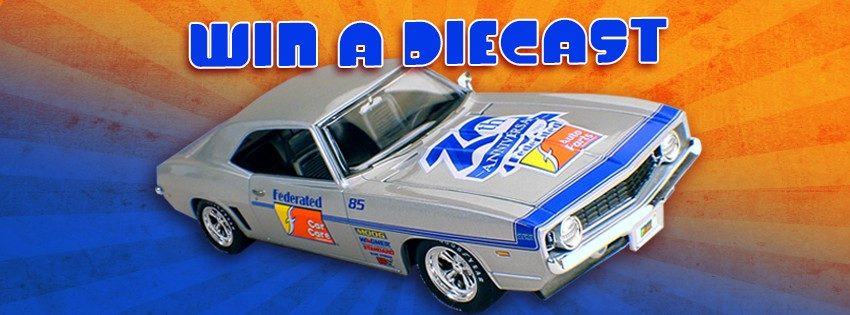 Federated Contest to Award '69 Chevy Camaro Diecasts
