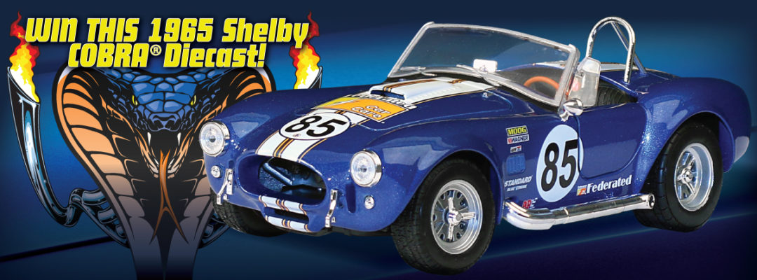 Federated Facebook Contest Features 1965 Shelby Cobra Diecast