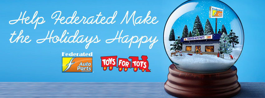 Federated Toys for Tots Campaign in High Gear